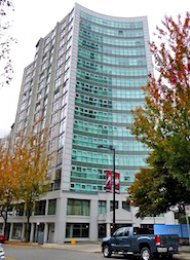 1 Bedroom Apartment For Rent at Pacific Point in Yaletown Vancouver. B106 - 1331 Homer Street, Vancouver, BC, Canada.