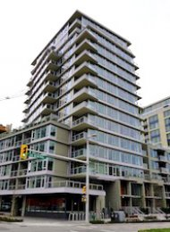 Wall Centre 2 Bedroom Apartment For Rent on Vancouver's Westside. 1404 - 108 West 1st Avenue, Vancouver, BC, Canada.