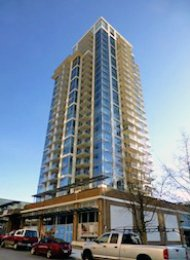Unfurnished 2 Bedroom Apartment For Rent in New Westminster at Viceroy. 1508 - 608 Belmont Street, New Westminster, BC, Canada.