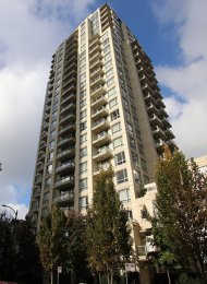 Furnished 1 Bedroom Apartment Rental at Eden in Yaletown Vancouver. 1909 - 1225 Richards Street, Vancouver, BC, Canada.