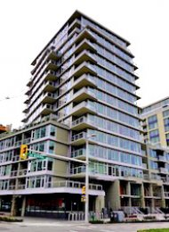 Luxury 2 Bedroom Apartment Rental at Wall Centre in False Creek South. 360 - 108 West 1st Avenue, Vancouver, BC, Canada.