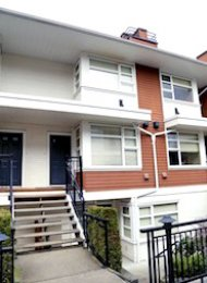 2 Bed Unfurnished Townhouse For Rent at Oakwood in Metrotown Burnaby. 56 - 6528 Denbigh Avenue, Burnaby, BC, Canada.