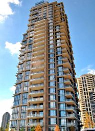 2 Bed Unfurnished Apartment For Rent at Vantage in Brentwood Burnaby. 2505 - 2077 Rosser Avenue, Burnaby, BC, Canada.