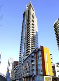 Luxury 2 Bedroom Apartment Rental at The Mark in Yaletown Vancouver. 3502 - 1372 Seymour Street, Vancouver, BC, Canada.