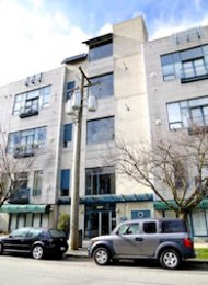 Cannery Row 1 Bedroom Loft Rental in Hastings Sunrise East Vancouver. 320 - 2001 Wall Street, Vancouver, BC, Canada.