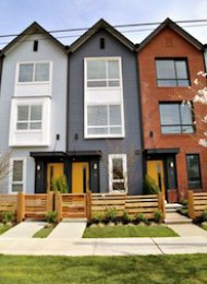 The Metro 3 Bedroom Unfurnished Townhouse Rental in Metrotown, Burnaby. 4 - 6868 Burlington Avenue, Burnaby, BC, Canada.