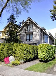 Kits Point 2 Bedroom Duplex Rental in Kitsilano on Vancouver's Westside. 2023 Whyte Avenue, Vancouver, BC, Canada.