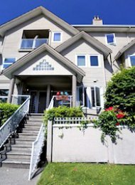 2 Bedroom Townhouse For Rent in Fairview on Vancouver's Westside. 3183 Ash Street, Vancouver, BC, Canada.