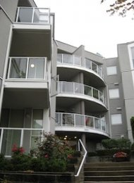 Boardwalk 1 Bedroom Unfurnished Apartment For Rent in East Vancouver. 206 - 8420 Jellicoe Street, Vancouver, BC, Canada.