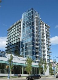 Unfurnished 1 Bedroom Apartment Rental in Richmond at Lotus. 1605 - 7373 Westminster Highway, Richmond, BC, Canada.
