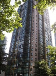 The Lions 2 Bedroom Apartment For Rent in Downtown Vancouver. 2508 - 1331 Alberni Street, Vancouver, BC, Canada.