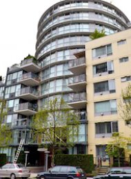 Carrara of Portico Luxury Apartment Rental on Vancouver's Westside. 211 - 1485 West 6th Avenue, Vancouver, BC, Canada.
