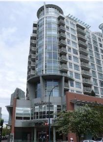 Aquarius Furnished Luxury 1 Bedroom Apartment Rental in Yaletown. 1002 - 189 Davie Street, Vancouver, BC, Canada.