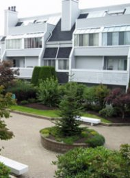 Canterbury Court 2 Bedroom Furnished Apartment For Rent in Richmond. 223 - 7751 Minoru Boulevard, Richmond, BC, Canada.