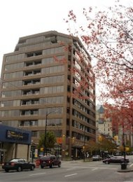 1 Bedroom Apartment Rental at Fortune House in Downtown Vancouver. 1001 - 1010 Howe Street, Vancouver, BC, Canada.