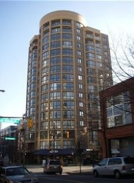 Robinson Tower 2 Bedroom Unfurnished Apartment For Rent in Yaletown. 602 - 488 Helmcken, Vancouver, BC, Canada.