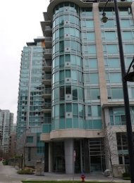 Luxury Unfurnished Apartment Rental at Denia in Coal Harbour Vancouver. 905 - 499 Broughton Street, Vancouver, BC, Canada.