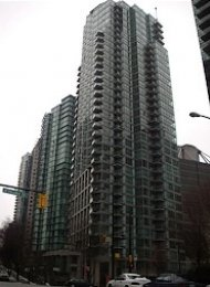 Classico Unfurnished 2 Bedroom Apartment Rental in Coal Harbour Vancouver. 2802 - 1328 West Pender Street, Vancouver, BC, Canada.