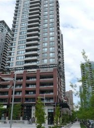 1 Bedroom Unfurnished Apartment Rental at Yaletown Park in Vancouver. 977 Mainland Street, Vancouver, BC, Canada.