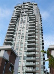 Unfurnished 2 Bedroom Apartment Rental at Park 360 in Burnaby. 2903 - 7088 18th Avenue, Burnaby, BC, Canada.