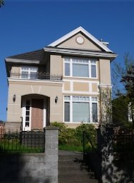 Marpole Luxury 6 Bedroom Unfurnished House For Rent in Vancouver. 8558 Adera Street, Vancouver, BC, Canada.