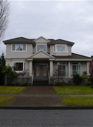 South Cambie Luxury 7 Bedroom Unfurnished House For Rent in Vancouver. 4978 Ash Street, Vancouver, BC, Canada.