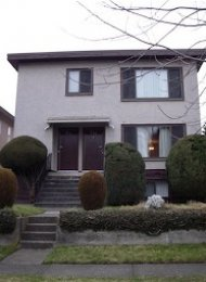 Unfurnished 3 Bed Half Duplex For Rent in Marpole on Vancouver's Westside. 819 West 68th Avenue, Vancouver, BC, Canada.