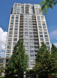 Latitude 1 Bedroom Apartment Rental in Collingwood East Vancouver. 506 - 3663 Crowley Drive, Vancouver, BC, Canada.