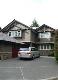 Luxury 5 Bedroom Unfurnished House Rental in Edgemont North Vancouver. 2571 Newmarket Drive, North Vancouver, BC, Canada.