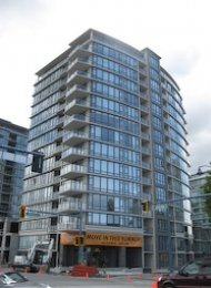 Flo 1 Bedroom Unfurnished Apartment For Rent in Brighouse Richmond. 1507 - 7360 Elmbridge Way, Richmond, BC, Canada.