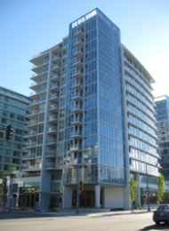 Unfurnished 1 Bedroom Apartment For Rent at Lotus in Brighouse Richmond. 1105 - 7371 Westminster Highway, Richmond, BC, Canada.