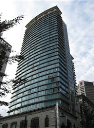 One Bedroom Apartment For Rent in Downtown Vancouver at The Hudson. 2604 - 610 Granville Street, Vancouver, BC, Canada.