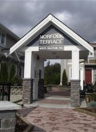 Central Burnaby 2 Bedroom Unfurnished Apartment Rental at Norfolk Terrace. 2 - 4025 Norfolk Street, Burnaby, BC, Canada.