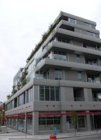 Unfurnished Live Work Loft For Rent at Loft 495 on Vancouver's Westside. 603 - 495 West 6th Avenue, Vancouver, BC, Canada.