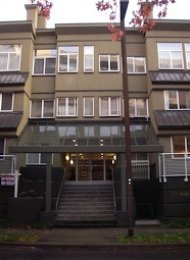 Edgewater 1 Bedroom Unfurnished Apartment For Rent in False Creek South. 207 - 650 Moberly Road, Vancouver, BC, Canada.