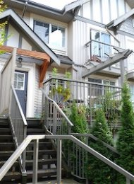 South Borough 2 Bedroom Townhouse For Rent in Edmonds Burnaby. 65 - 7088 17th Avenue, Burnaby, BC, Canada.