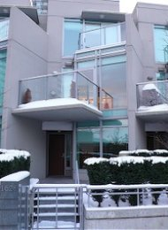 Bayshore Gardens Luxury Townhouse Rental in Coal Harbour Vancouver. 1628 Bayshore Drive, Vancouver, BC, Canada.