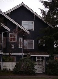 Unfurnished Half Duplex For Rent in Kitsilano on Vancouver's Westside. 2903 Cypress Street, Vancouver, BC, Canada.