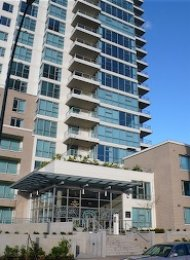 Furnished Luxury 2 Bedroom Apartment Rental at Creekside in Vancouver. 1606 - 125 Milross Avenue, Vancouver, BC, Canada.
