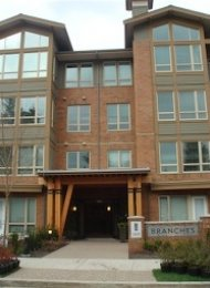 Unfurnished 2 Bedroom Apartment Rental at Branches in North Vancouver. 209 - 2601 Whiteley Court, North Vancouver, BC, Canada.