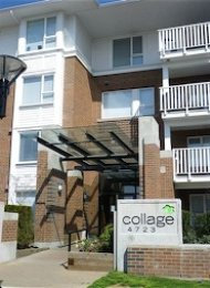 Collage Unfurnished 2 Bedroom Apartment For Rent in Brentwood Burnaby. 216 - 4723 Dawson Street, Burnaby, BC, Canada.