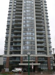 Unfurnished 1 Bedroom Apartment For Rent in Burnaby at Esprit. 2506 - 7328 Arcola Street, Burnaby, BC, Canada.