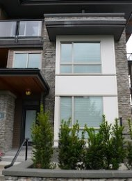 Green Unfurnished 3 Bedroom Townhouse For Rent in South Slope Burnaby. 101 - 7488 Byrnepark Walk, Burnaby, BC.