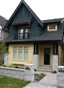 Heritage Living 2 Bedroom Luxury Duplex Rental in Mount Pleasant West. 429 West 16th Avenue, Vancouver, BC, Canada.