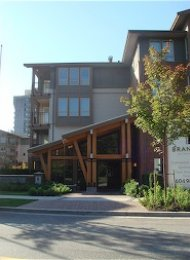 Unfurnished 2 Bedroom Apartment For Rent in Lynn Valley at Branches. 401 - 1111 East 27th Street, North Vancouver, BC, Canada.