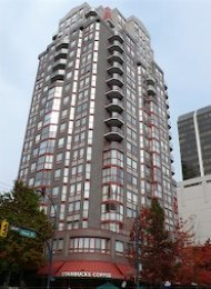 Imperial Tower 2 Bedroom Apartment For Rent in Downtown Vancouver. 1104 - 811 Helmcken Street, Vancouver, BC, Canada.
