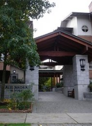 Alexandra House 1 Bedroom Unfurnished Apartment For Rent in Shaughnessy. 2115 - 4625 Valley Drive, Vancouver, BC, Canada.