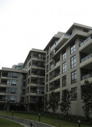 2 Bedroom Unfurnished Apartment For Rent in Richmond at Prado. 513 - 8180 Lansdowne Road, Richmond, BC, Canada.