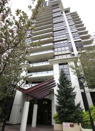 Fresco Ground Level Unfurnished 2 Bedroom Apartment For Rent in Brentwood, Burnaby. 102 - 2088 Madison Avenue, Burnaby, BC, Canada.