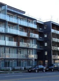Unfurnished Live Work Loft Rental at Jacobsen in Mount Pleasant East. 511 - 256 East 2nd Avenue, Vancouver, BC, Canada.